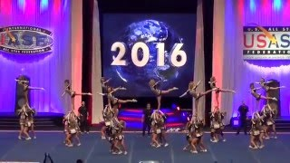 Top 10 Stunt Sequences at The Cheerleading Worlds 2016