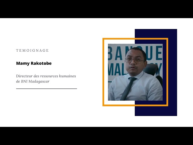 Témoignage BNI Madagascar - DRH