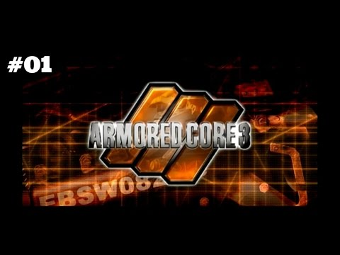I'm Registered! Let's play: Armored Core 3 part 1