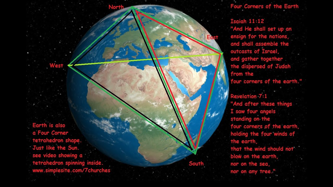 4corners Of The Earth Is Tetrahedron Too Youtube
