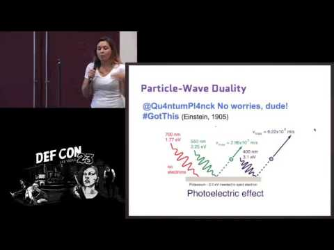 DEF CON 23 - Crypto and Privacy Village - Marina - Hacking Quantum Cryptography