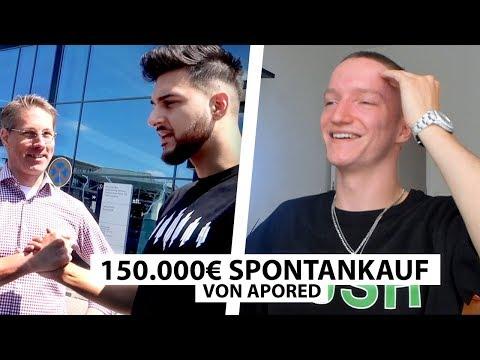 "Justin Reagiert Auf ""ApoRed Kauft Spontan G-Klasse""..   Reaktion"