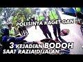 Razia Operasi Polisi - Klakson Kepencet Bikin Kaget Polisinya Ngakak Abiss + Obat Galau - Cbr