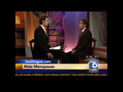 Andropause: Dr. Larry Emdur Interviewed on CW San Diego 6 Morning News