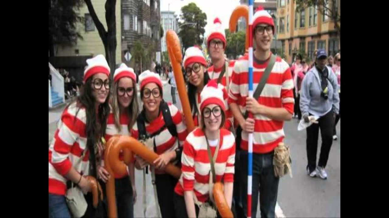 sc 1 st  YouTube & ideas for group halloween costumes - YouTube