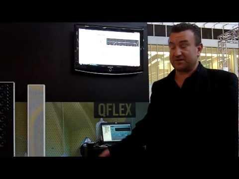 Tannoy's QFLEX series at Prolight+Sound 2011 in Frankfurt