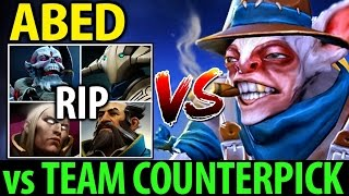 Insane Micro Meepo GOD by Abed vs Team Counterpick Dota 2 7.06 MMR Gameplay