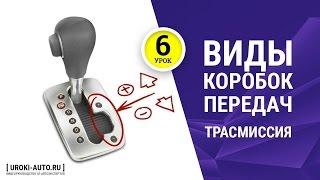 Урок 6 - трансмиссия, виды коробок передач, механическая, автоматическая, типтроник, вариатор(Сайт: http://www.uroki-auto.ru Продвинутый видеокурс http://autoexpertum.ru Видеокурс