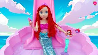 La SIRENITA Ariel se hace MUY GRANDE