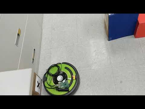 Coding a patrolling robot that is able to recognize a marker