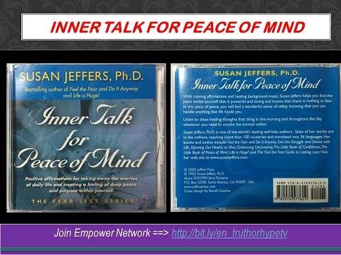 Inner Talk Peace of Mind by Susan Jeffers