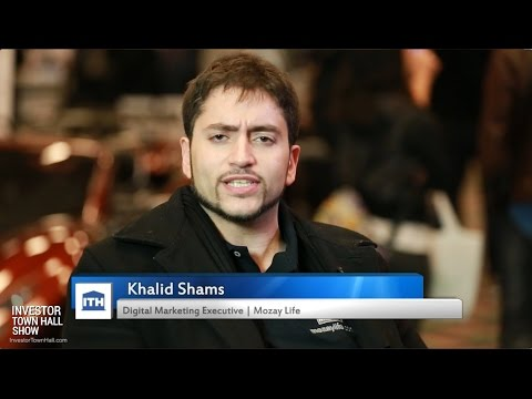 Mozay Life - Interview with Digital Marketing Executive Khalid Shams at Crowd Invest Summit 2016