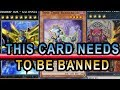 IT GETS MORE BROKEN! 1 CARD NEGATE EVERYTHING DESTROY ALL CARDS + ULTIMATE FALCON! BAN THIS CARD!