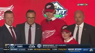 Red Wings draft D Seider No. 6   Jun 21,  2019