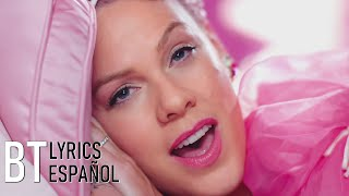 P!nk - Beautiful Trauma (Lyrics + Español) Video Official