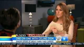 Celine Dion on Good Morning America 2015