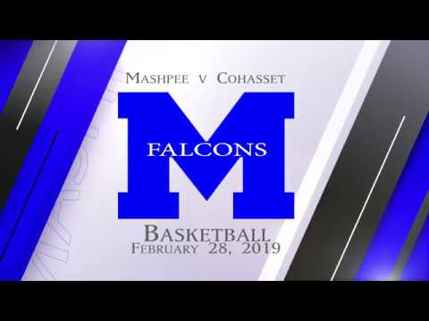 Mashpee Girls Varsity Basketball v Cohasset Play-off Game 2-28-2019