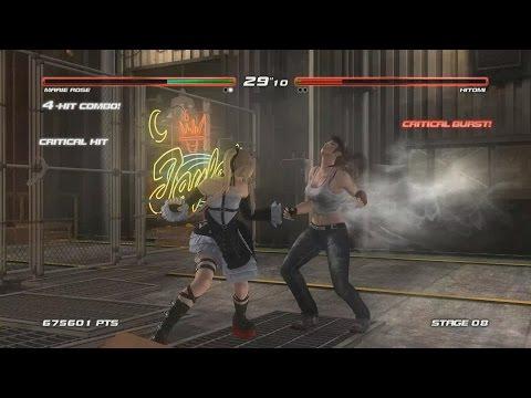 เกมส์ต่อสู้ Dead or Alive 5 Last Round Marie Rose ตัดต่อผสมครับ :))
