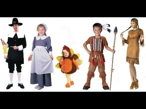 Thanksgiving day costumes youtube thanksgiving day costumes solutioingenieria Images