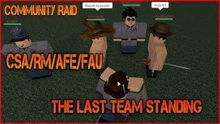 Community Raid mit CSA/RM/AFE/FAU - [Roblox] Das letzte stehende Team