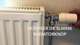 Installatie WoonVeilig Slimme Radiatorknop