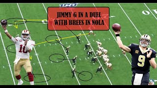 49ers VS Saints Review: Jimmy G