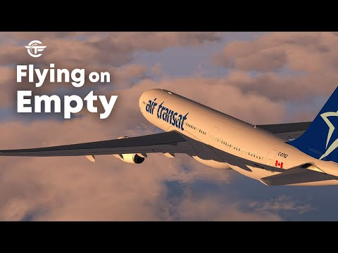 How to Land an Airbus A330 Without Any Engine | Flying on Empty | Air Transat Flight 236