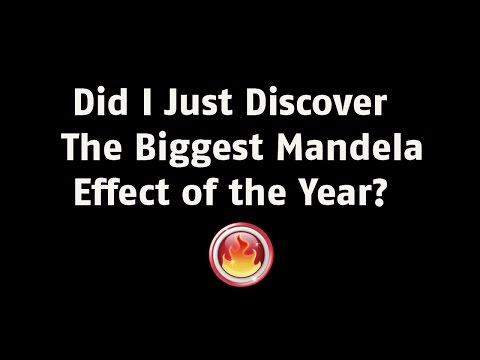 Abnormal Truth - Did I just discover the biggest Mandela Effect of the year?