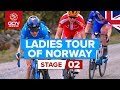 Ladies Tour of Norway Stage 2 LIVE | Mysen – Askim | GCN Racing