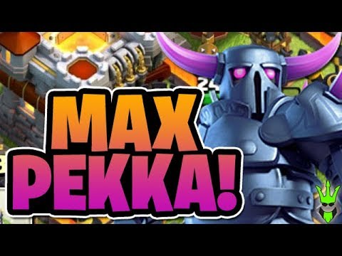 UPGRADING MAX PEKKAS! - TH11 GoWiPe Farming! Will it Work? - Clash of Clans - Road to Max 11