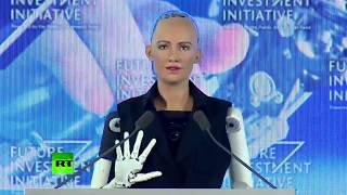 First ever robot gets citizenship, addresses forum: Creepy or cool?