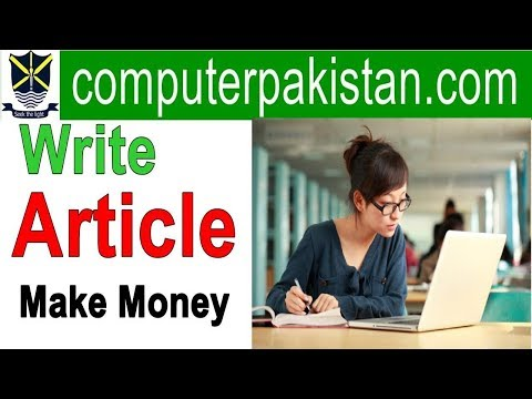 online article writing jobs in india