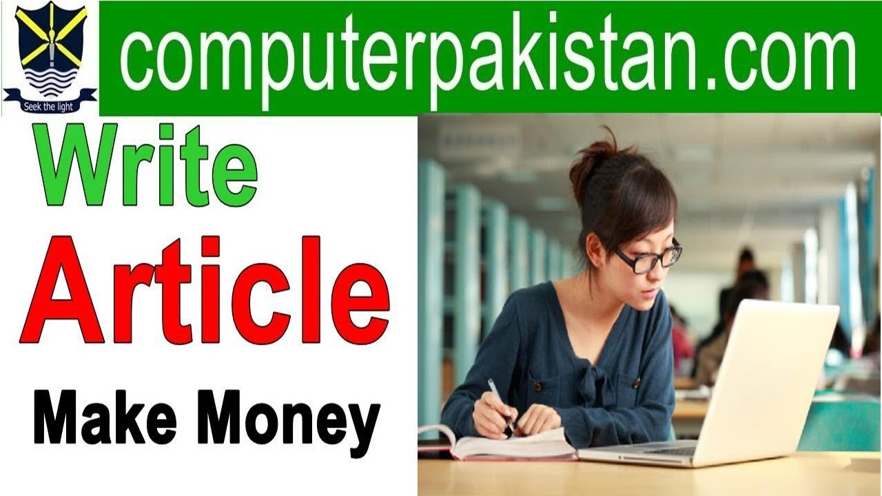Online Article Writing Jobs for Students in Pakistan