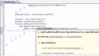 Intermediate Java Tutorial - 35 - Building the GUI
