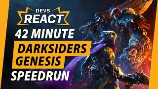 Darksiders Genesis Developers React to 42 Minute Speedrun