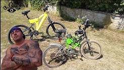Моторно колело от 1995г. с двигател Рига Д8 а.С.м