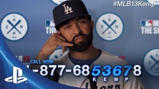 "MLB 13 Cover Showdown | Matt Kemp ""Hotline"""