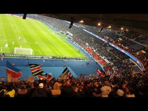 """PSG - Ludogorets """" Ultras Virage Auteuil """" nouveau chant"""