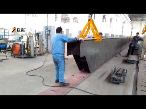 How To Make An Overhead Crane?- Welding Of Lower Flange