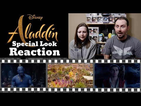 Aladdin Special Look Reaction