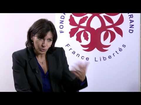 """France Libertés- Interview Anne Hidalgo - conférence """"Sur les Pas..."""" nov 2012"""