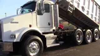 2005 Kenworth T800 Tri Axle Dump Truck #00953