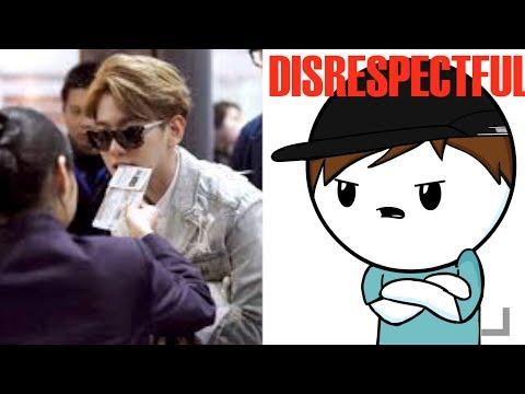 K-POP IDOLS VS RUDE FANS (SO DISRESPECTFUL!)