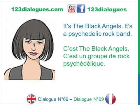 Dialogue 69 - English French Anglais Français - Music Go to a concert - Musique Aller à un concert