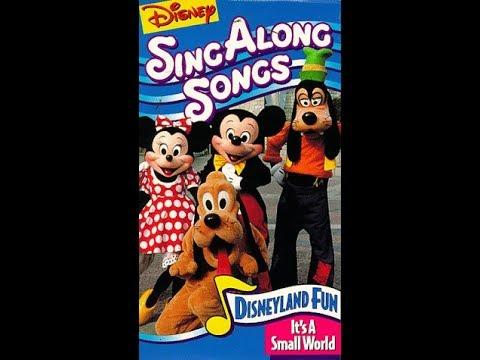 Opening To Disney S Sing Along Songs Disneyland Fun 1990 2017 Vhs