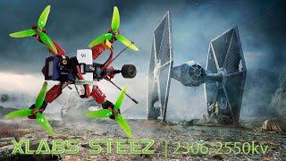XLABS STEEZ QUADCOPTER   BrotherHobby 2306-2650kv  HolyBro Kakute F4 & Tekko 32  DEATHRAT69 Pilot