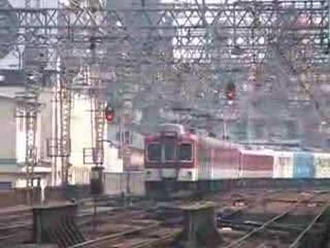 近鉄5 (Kintetsu railway at Tsuruhashi)