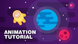Characters in Space Animation - AFTER EFFECTS TUTORIAL