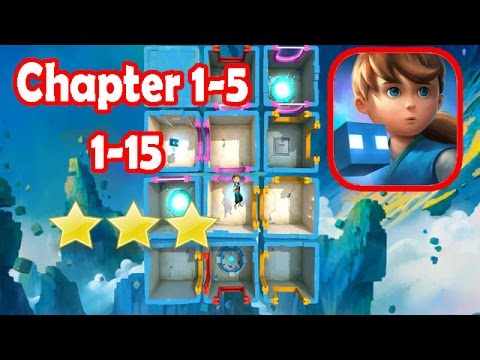 Warp Shift: Chapter 1-5 Level 1-15 (3 Stars) Full Gameplay/Walkthough