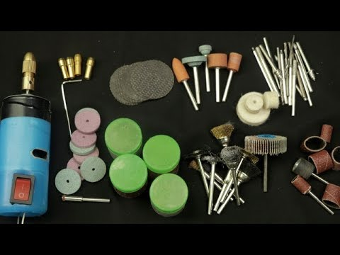 DIY Kit Suit Mini Drill Rotary Tools Accessory 161 Pieces